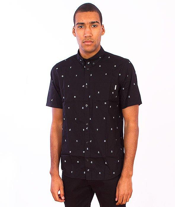 Carhartt-Drop Cap Shirt Black/White