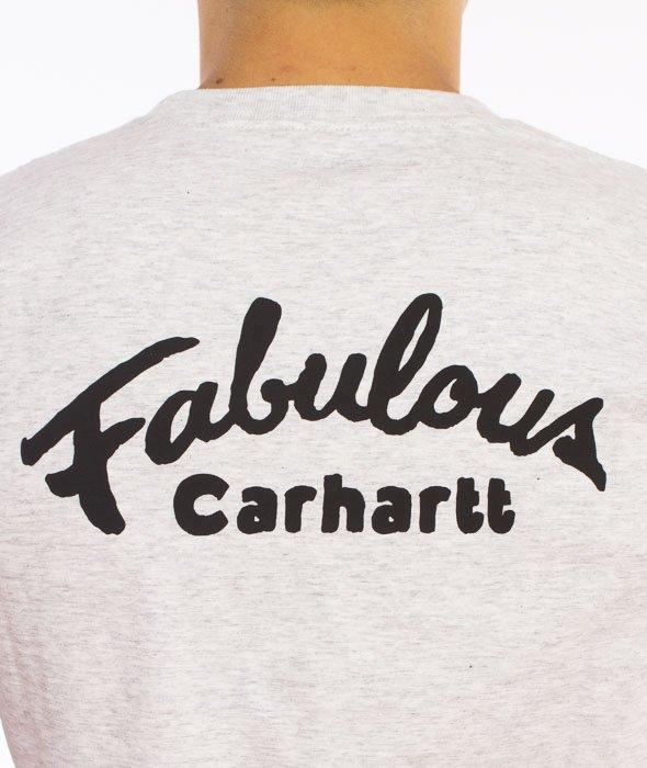 Carhartt-Fabulous T-Shirt Ash Heather Grey
