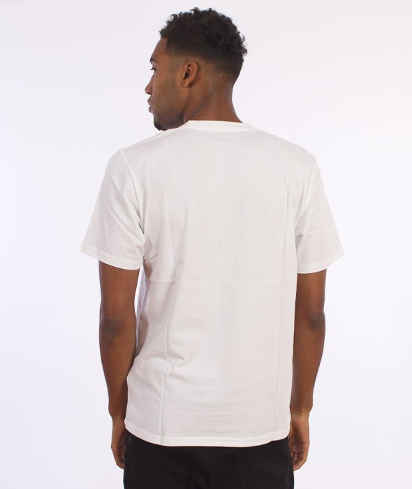 Carhartt-Painted Script T-Shirt White/Black