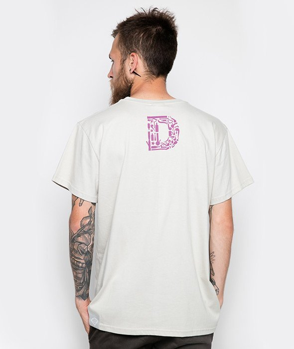 Diamante-Bong Icon T-Shirt Beżowy