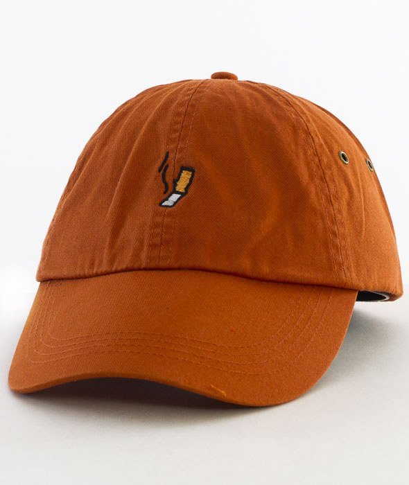 Hype-Cigi Dad Hat Czapka Z Daszkiem Orange