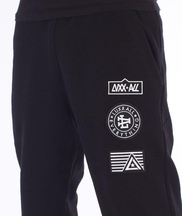 LuxxAll-Path Spodnie Dresowe Czarne