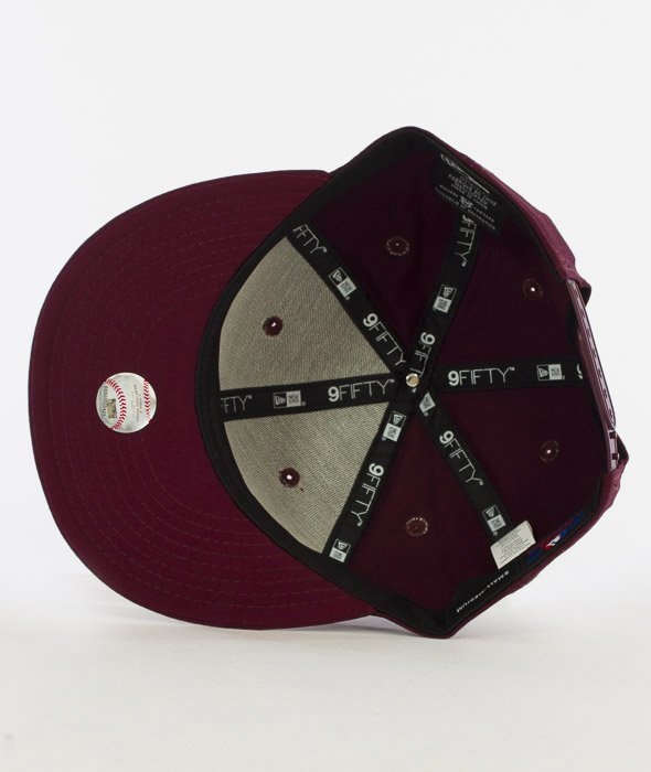 New Era-League Essential New York Burgundy