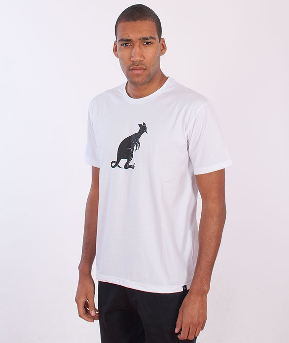 Parra-Hiding T-Shirt White