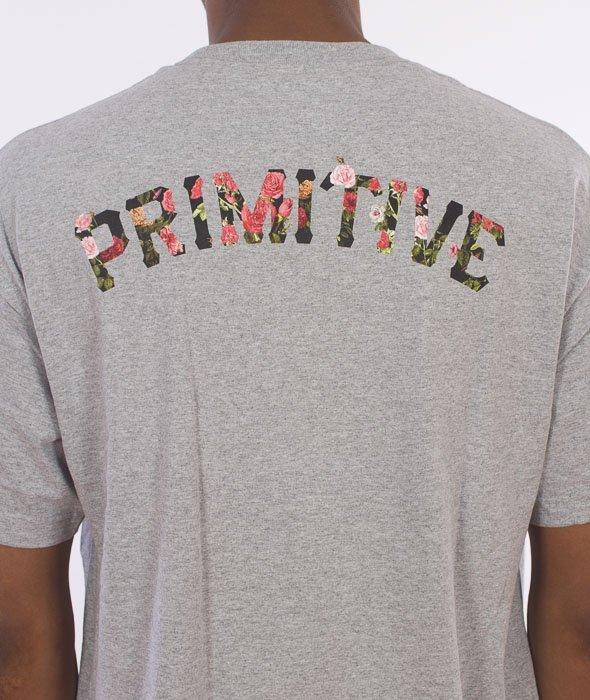 Primitive-Slab Rose T-Shirt Szary