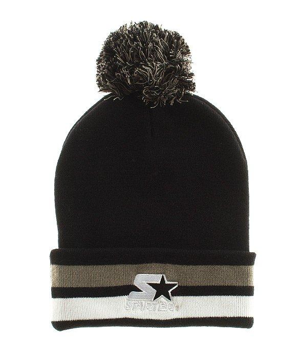 Starter-Cotton True Knit Czapka Zimowa Black