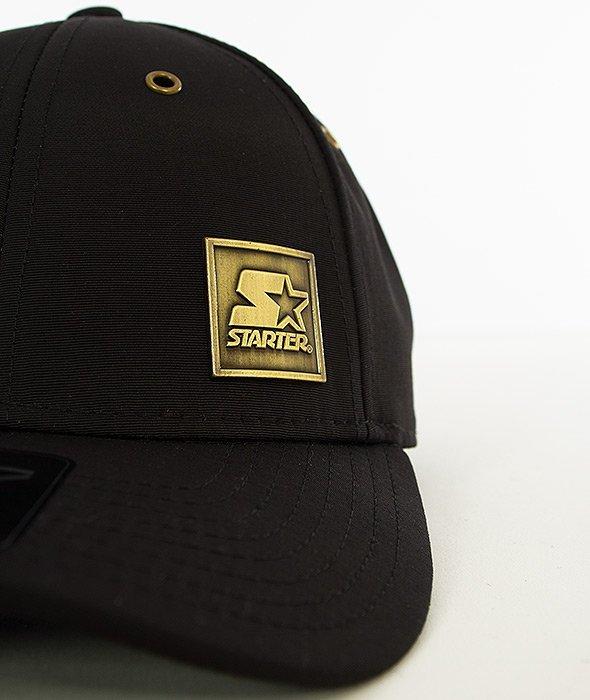 Starter-Signet Pitcher Czapka z Daszkiem Czarna