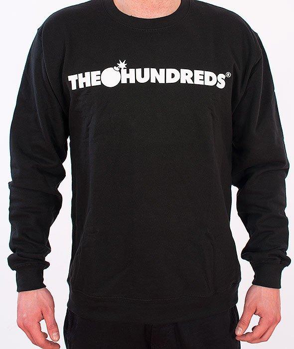 The Hundreds-Forever Bar Crewneck Black