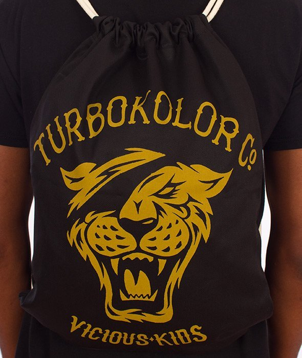 Turbokolor-U Vicious Kids Shoebag Worek Czarny