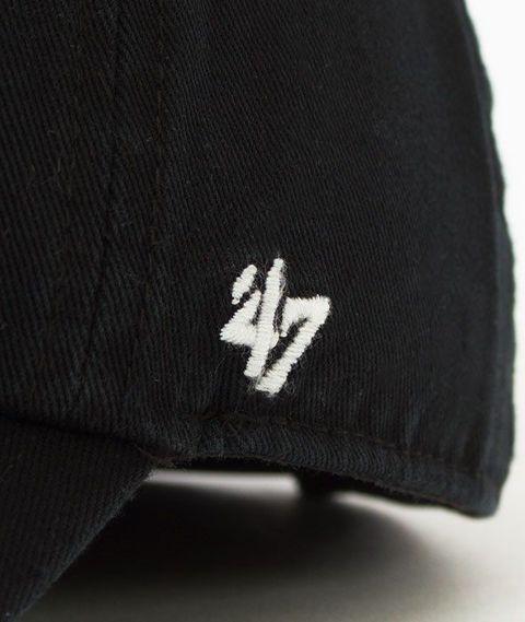 47 Brand-Clean Up Los Angeles Dodgers Czapka z Daszkiem Czarna