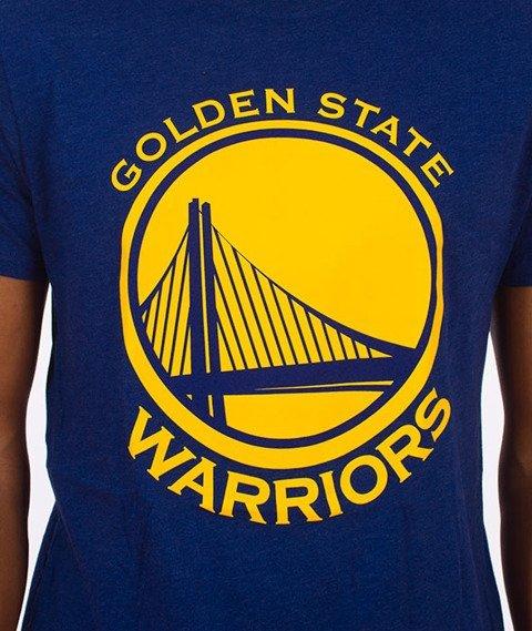 47 Brand-Golden State Warriors T-Shirt Niebieski