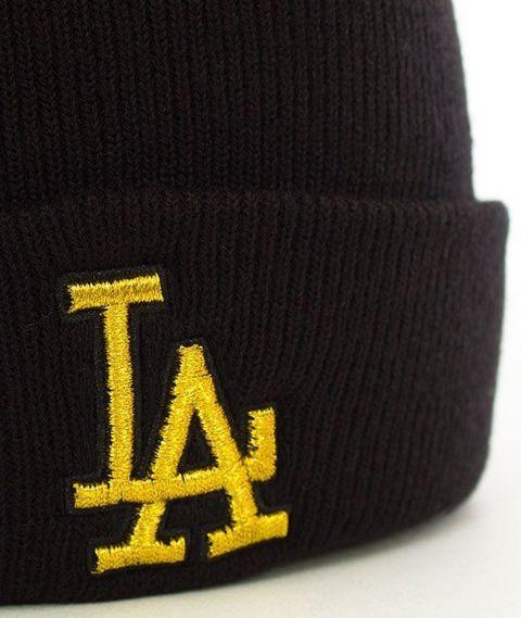 47 Brand-Los Angeles Dodgers Metallic Czapka Zimowa Czarna
