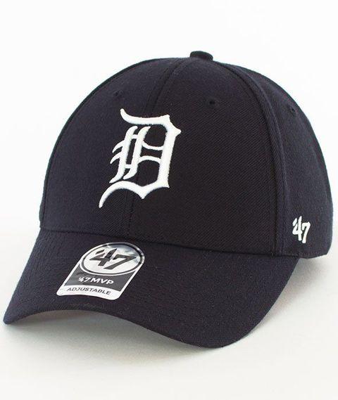 47 Brand-MVP Detroit Tigers Czapka z Daszkiem Czarna