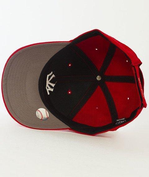 47 Brand-MVP New York Yankees Czapka z Daszkiem Czerwona