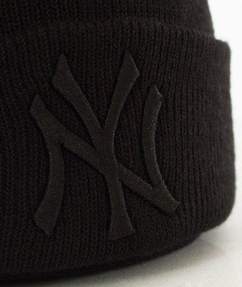47 Brand-New York Yankees Czapka Zimowa Czarna/Czarny Haft
