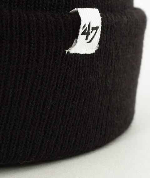 47 Brand-San Jose Sharks Cuff Knit Czapka Zimowa Czarna