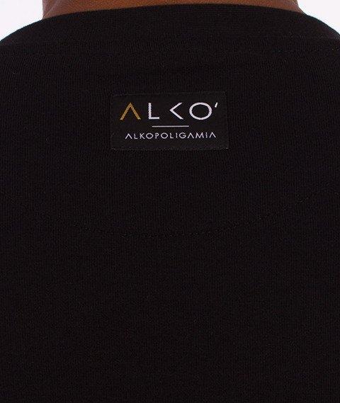Alkopoligamia-ΔLKO' Bluza Czarna