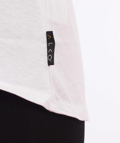 Alkopoligamia-ΔLKO' T-Shirt Damski Biały