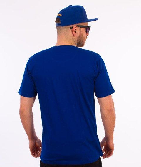 Alkopoligamia-Loveyourlife Botanix Pocket T-Shirt Niebieski