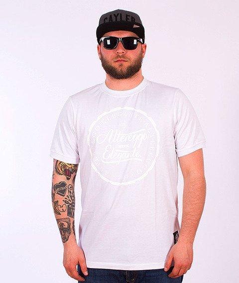 Alter Eggo-Elegante White Logo T-shirt Biały