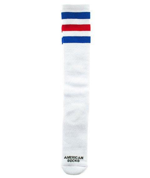 American Socks-American Pride Knee High Podkolanówki Białe