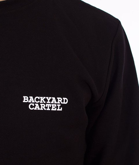 Backyard Cartel-Back Label Bluza Czarna