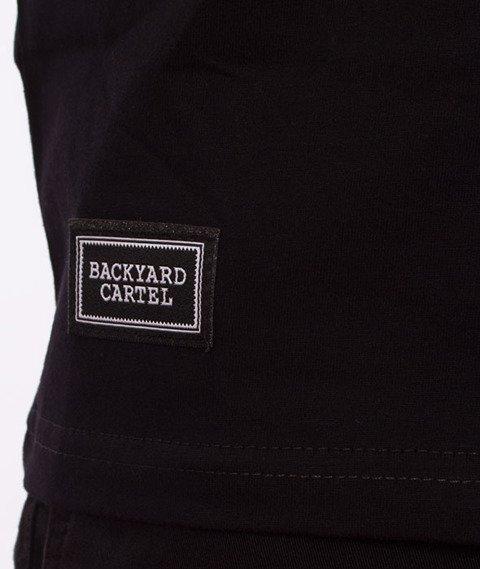 Backyard Cartel-Cream T-Shirt Czarny