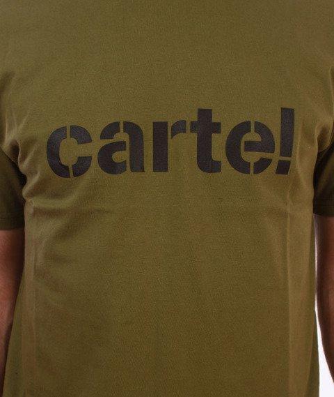 Backyard Cartel-Disaster T-Shirt Khaki