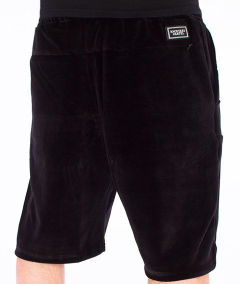 Backyard Cartel-Smooth Shorts Czarne