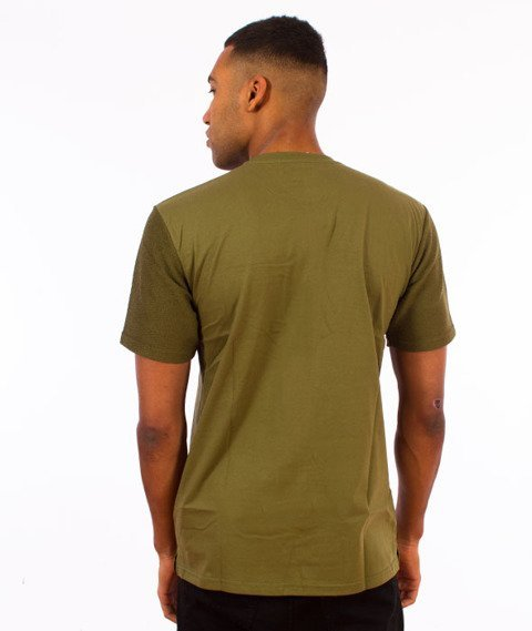 Backyard Cartel-Swish T-Shirt Khaki