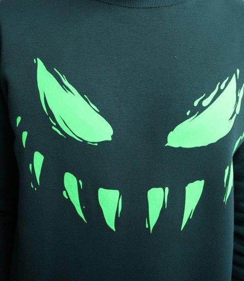 Biuro Ochrony Rapu-Atypowy Bluza Ciemno Zielony