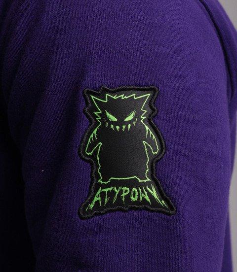 Biuro Ochrony Rapu-Atypowy Bluza Fioletowy