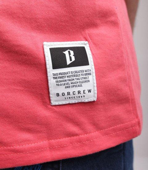 Biuro Ochrony Rapu-B Logo T-shirt Łososiowy