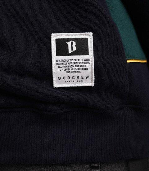 Biuro Ochrony Rapu B13 Bluza Stójka Granatowy