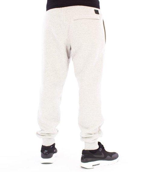 Biuro Ochrony Rapu-BOR New Outline Spodnie Dresowe Jasny Szary