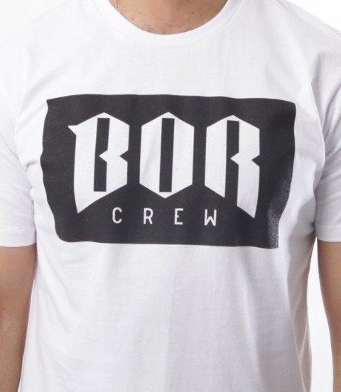 Biuro Ochrony Rapu-BOR New T-shirt Biały