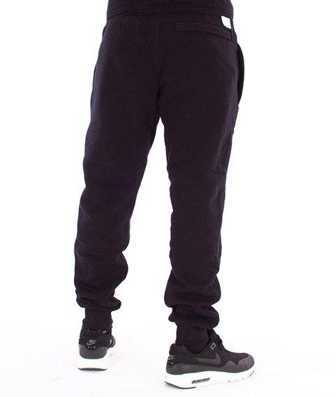Biuro Ochrony Rapu-Classic Borcrew Outline Spodnie Dresowe Czarne