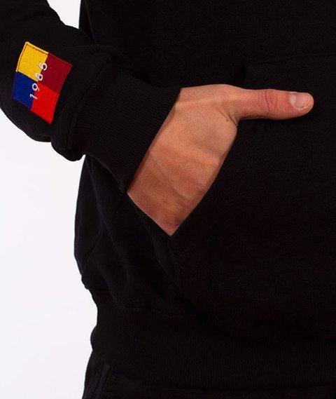 Biuro Ochrony Rapu-Color Square Bluza Kangurka Czarna