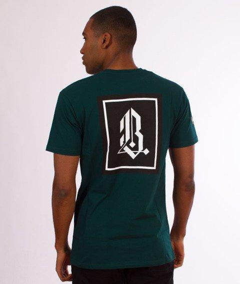 Biuro Ochrony Rapu-Gotyk T-shirt Zieleń
