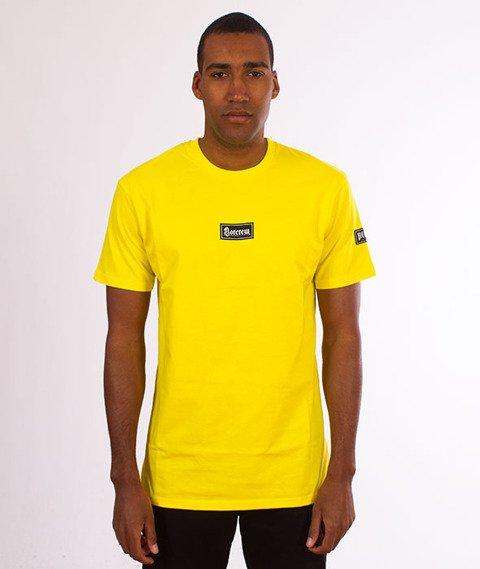 Biuro Ochrony Rapu-Gotyk T-shirt Żółty