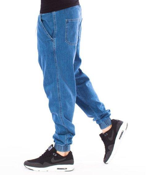 Biuro Ochrony Rapu-Jogger Fit Guma Strecz Spodnie BOR New Outline Light