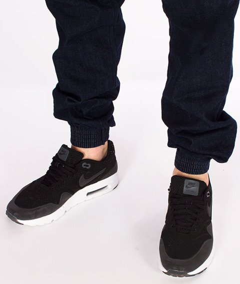 Biuro Ochrony Rapu-Jogger Fit Guma Strecz Spodnie Classic Borcrew Dark