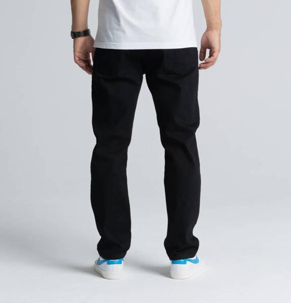 Biuro Ochrony Rapu SKIN Spodnie Jeans Czarny
