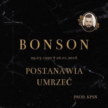 Bonson-Postanawia Umrzeć  CD