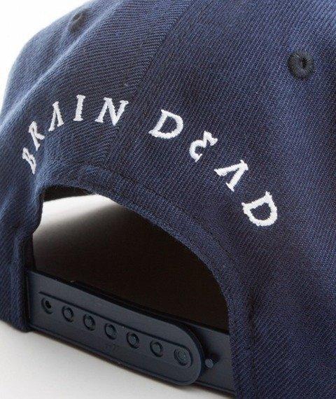Brain Dead Familia-Brain Dead Snapback Granatowy