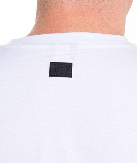 Brain Dead Familia-Funky T-shirt Biały