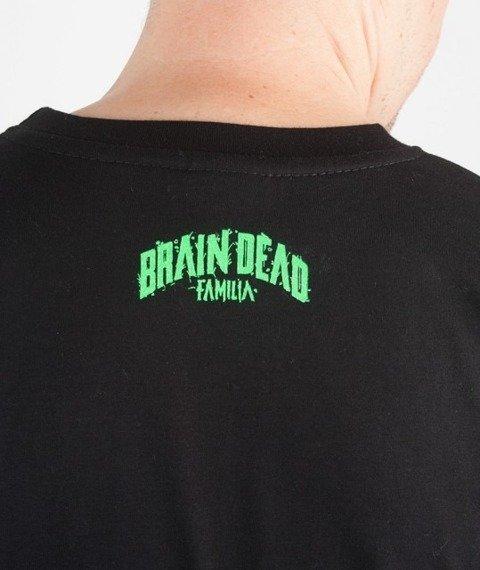 Brain Dead Familia-Halloween T-shirt Czarny