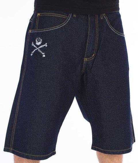 Brain Dead Familia-Knives Spodnie Krótkie Jeans Dark Blue