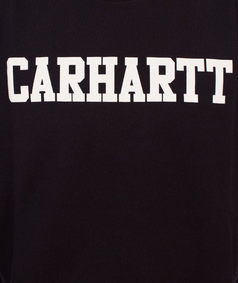 Carhartt-College Sweatshirt Black/White