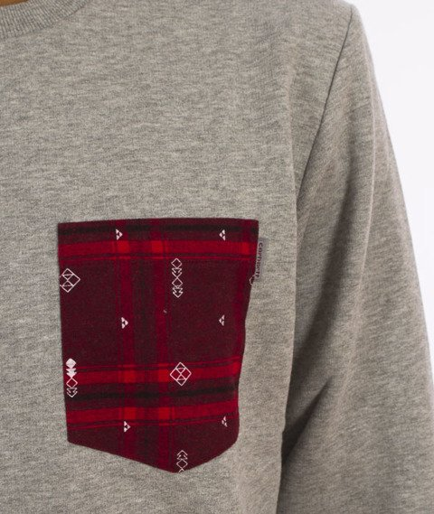 Carhartt-Eaton Pocket Bluza Grey Heather/Carlo Check